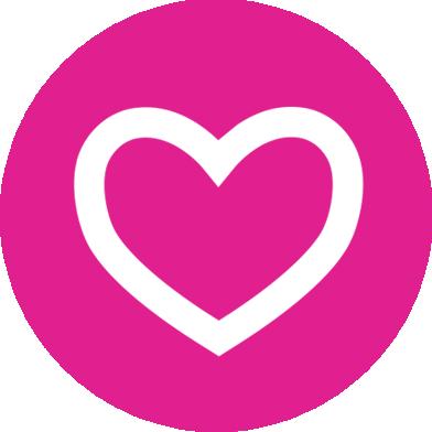 Rewards link heart icon logo